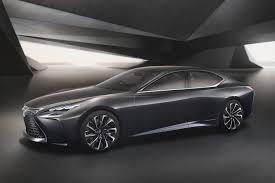 lexus lf lc detroit lexus brings the lf fc flagship concept to the detroit auto show