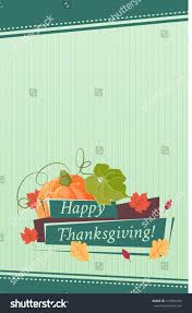 thanksgiving recipe card template happy thanksgiving card background poster vector stock vector