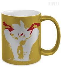 dragon ball z bardock metallic mug empire prints