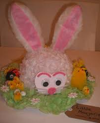 white rabbit easter bonnet easter bonnets pinterest white