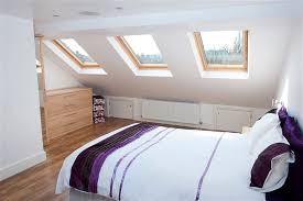 Extraordinary Inspiration Dormer Bedroom Designs  Purple Accent - Loft conversion bedroom design ideas