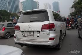 xe sang lexus lx570 lexus lx570 phiên bản đặc biệt bất ngờ xuất hiện tại hà nội