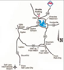 map salt lake city to denver powder mountain resort directions u0026 maps