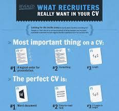 cv tips recruiter resume recommendations cv tips