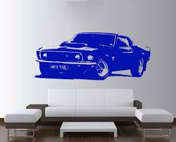 Classic Ford Truck Decals - aliexpress com buy large car sticker for ford mustang 1969