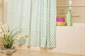 sea side beach aqua teal shower curtain
