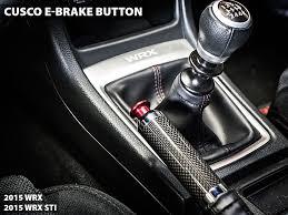 subaru oem jdm console hood with red stitching 2015 wrx 2015 cusco e brake replacement button 2015 wrx 2015 sti 2013 brz