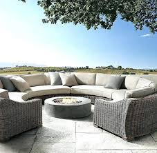 round sectional outdoor furniture outdoor furniture circular couch