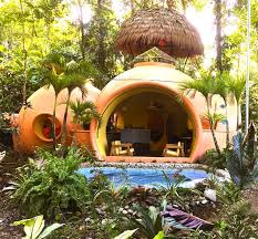 adobe style home adobe style dome home in a lush rainforest vrbo