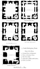 file hedingham castle plans from the growth of the english house