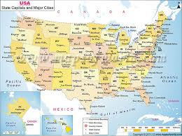 united states map with state names and major cities us map with cities names united states map with states and