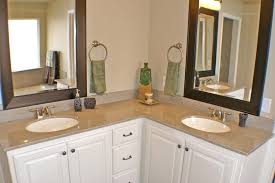 Inexpensive Bathroom Vanities And Sinks Simple L Shaped Bathroom Vanity On Small Home Remodel Ideas With L