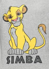 womens lion king simba snow heather pullover sweater