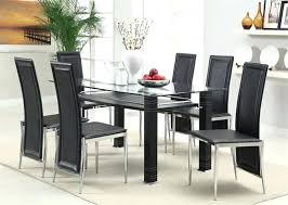 cheap glass dining room sets modern glass dining table modern glass dining table contemporary