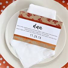 simple diy thanksgiving menu place cards thirty handmade days