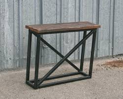 Making A Small End Table by Combine 9 Industrial Furniture U2013 Industrial Modern End Table