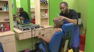 mom u0027s love for special needs son pushes local barbershop to go a