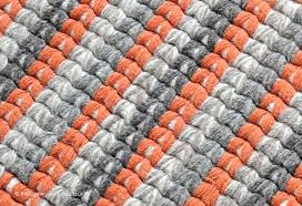 Orange Modern Rug Carlos Rug Texture Up A Woven 100 Wool Modern Rug