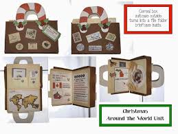 christmas around the world packet classroom freebies and