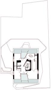 spiral staircase floor plan ols house by j mayer h architects