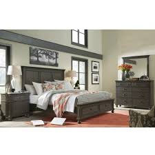 oxford wood storage bed in peppercorn humble abode