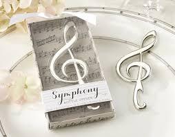 amazon com kate aspen symphony chrome music note bottle opener