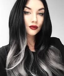 grey streaks in hair pictures add grey to my hair women black hairstyle pics