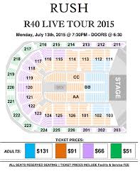 Greensboro Coliseum Floor Plan Rush Is A Band Blog Rush 2015 R40 Live Tour