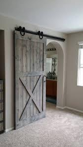 Barn Door Ideas For Bathroom Best 25 Closet Barn Doors Ideas On Pinterest Bathroom Door With
