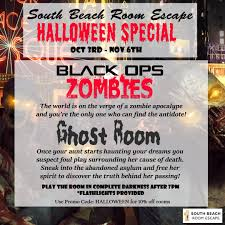 thrilling escape the room games for halloween south beach room