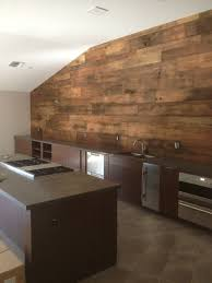 Wood Wall Covering by Reclaimed Brown Board Wall Porter Barn Wood