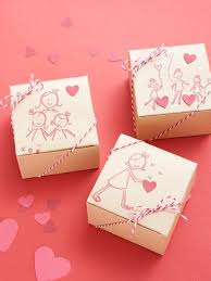 Diy Valentines Day Gift Guide For Friends Family Valentines Day Box Ideas Robot With Valentines Day Box