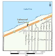 Lakewood Ohio Map by Odnr Coastal Lake Erie Public Access