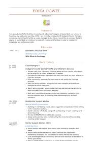 case manager resume samples visualcv resume samples database