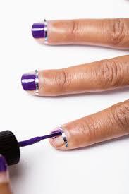 how to do nail art designs at home easy stamping nail art at home
