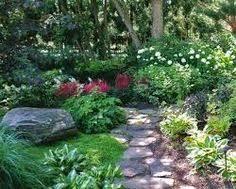 image result for hosta garden layout ideas flower beds