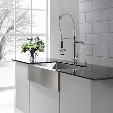 modern kitchen faucets stainless steel contemporary silver stainless steel farmhouse kitchen sink chrome