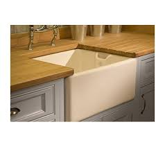 BE Shaws Belfast Apron Kitchen Sink White Gloss Cm Width - Belfast kitchen sink