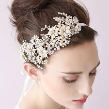 flower for hair wedding new handmade flower hair pieces wedding hair band