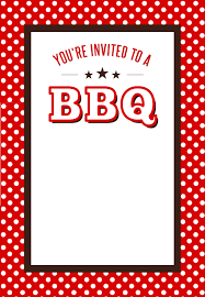 grilled bbq invitation fonts typography and cards