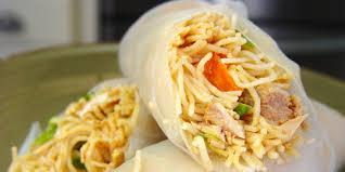 rice paper wrap asian chicken salad wrapped in rice paper recipes food network
