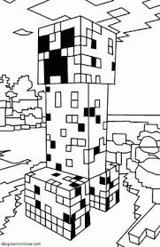 minecraft ocelot coloring pages 01 printables pinterest