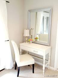 Makeup Vanity With Chair Bedroom Bedroom Vanity With Lights Makeup Vanity Mirror Small