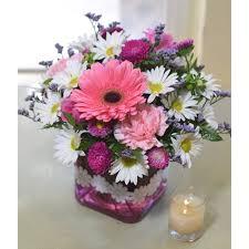 gg16e06 daisy cube the garden gate yuba city ca local florist