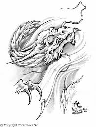 dragon head tattoo design photos pictures and sketches