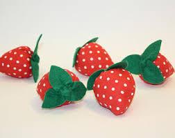 Strawberry Home Decor Strawberry Garland Etsy