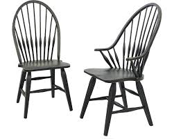Black Windsor Chairs Attic Heirlooms Dining Chairs Broyhill Broyhill Furniture