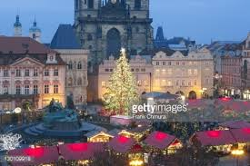 czech republic prague christmas market at the old town square