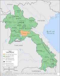 Map Of Laos Smartraveller Gov Au Laos