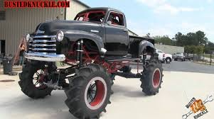 monster trucks in mud videos 1950 1 300 hp goliath not your usual monster truck gt speed